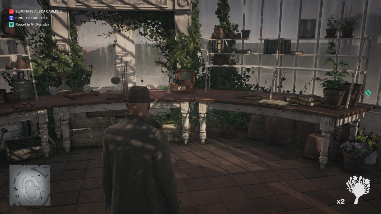 How to access the greenhouse in Hitman 3's dartmoor level