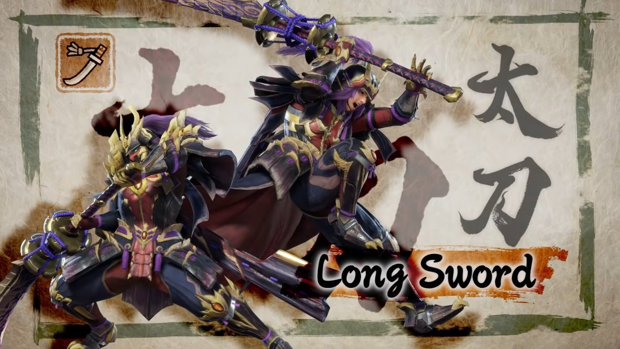 Longsword combos and moveset monster hunter rise