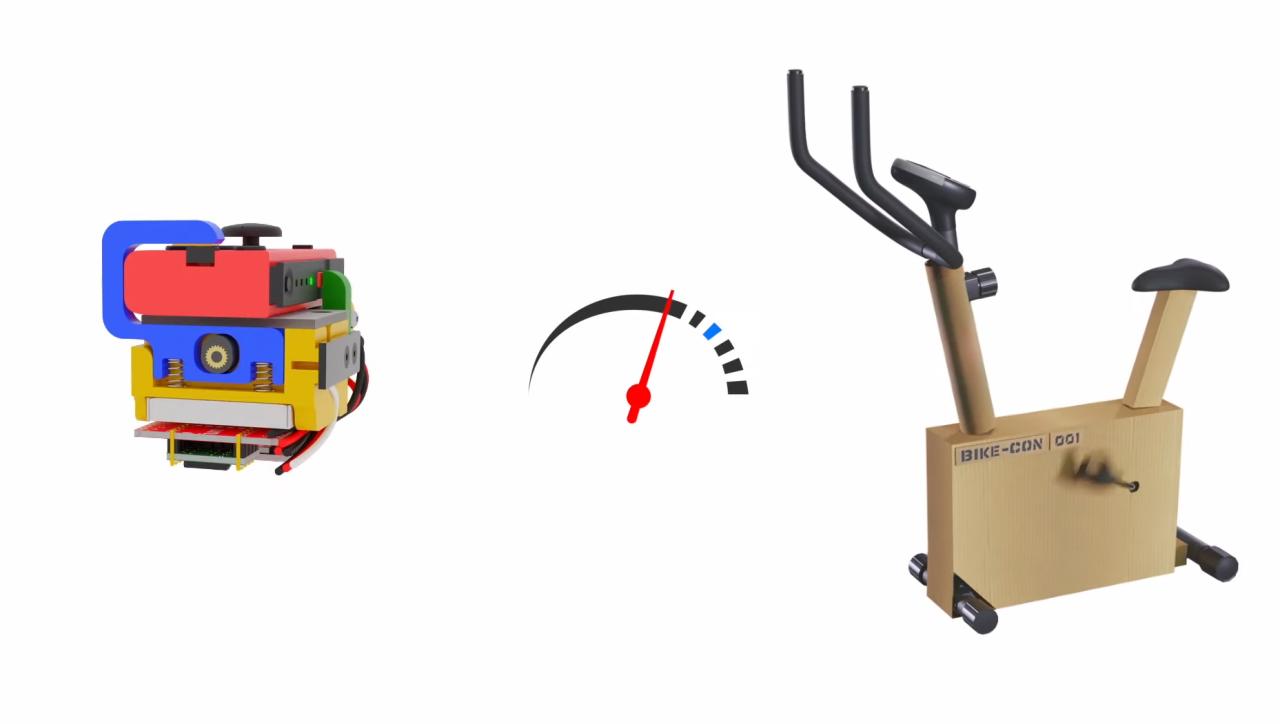 Mario kart fitness bike tapbo labo fit adventure kart kit