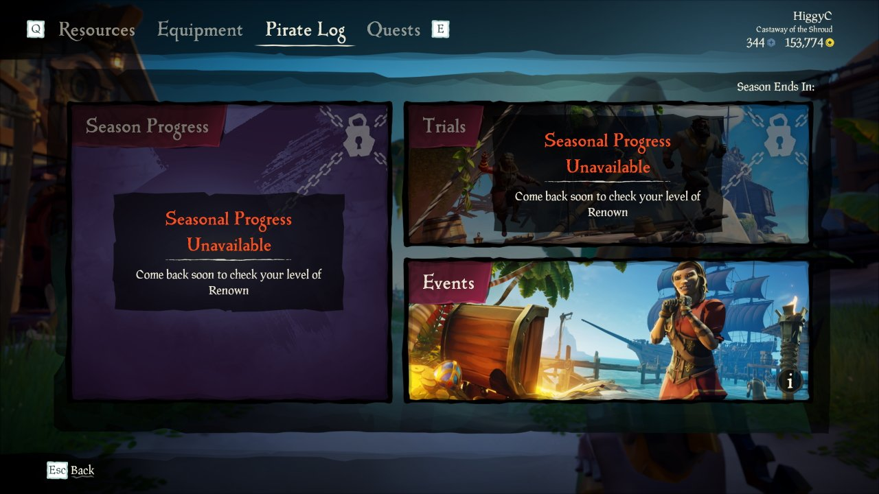 Sea of thieves Renown how to get it
