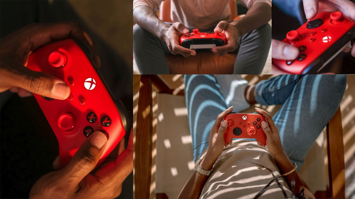 Xbox Pulse Red wireless controller release date