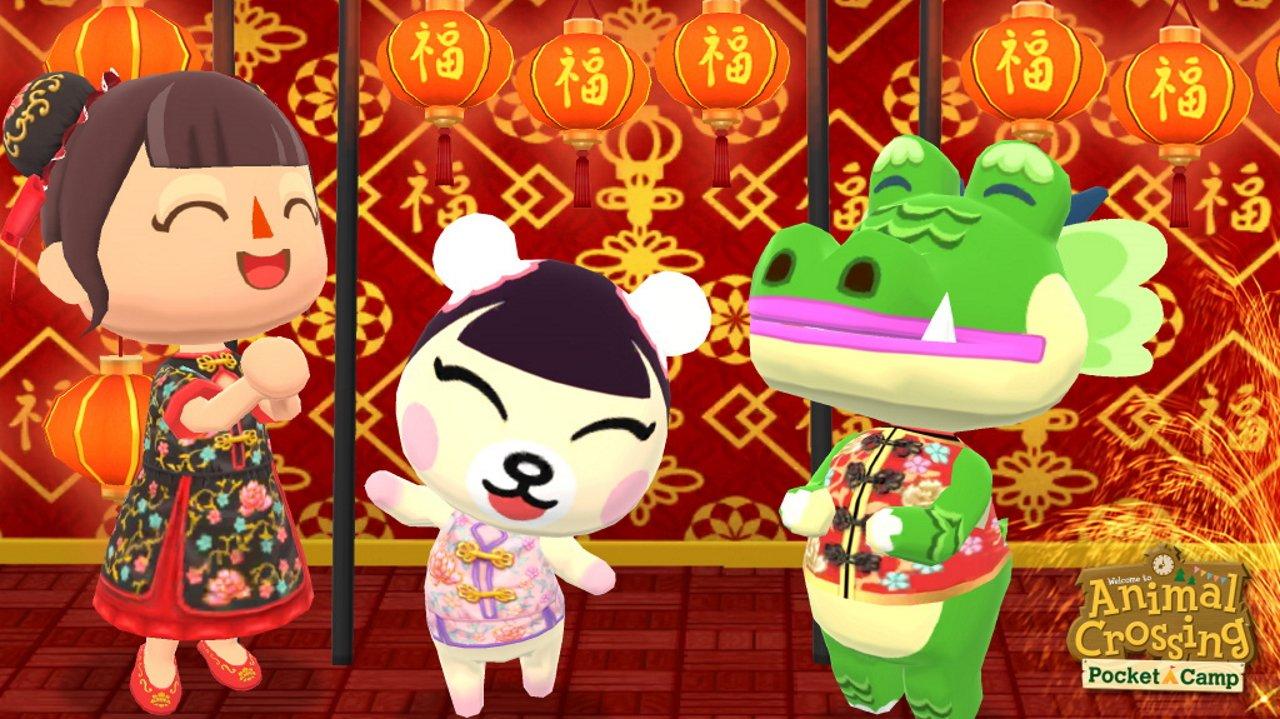 Animal Crossing: Pocket Camp Lunar New Year event