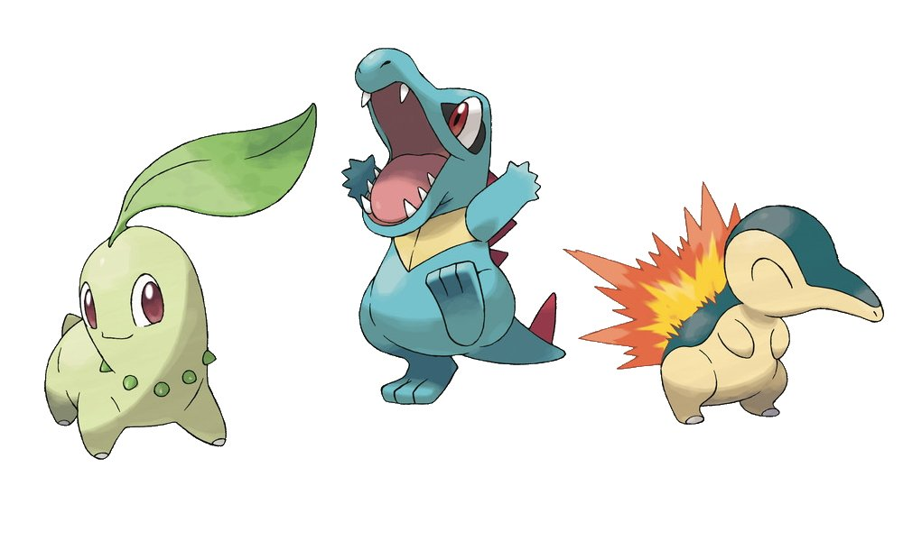 every starter pokemon ranked gen 2