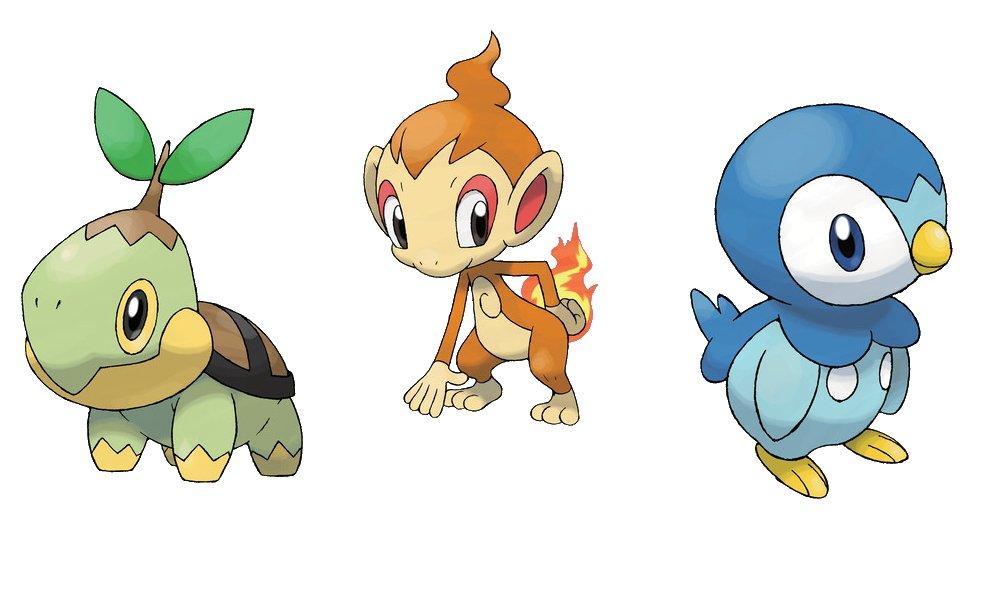 Best starter pokemon ranked gen 4