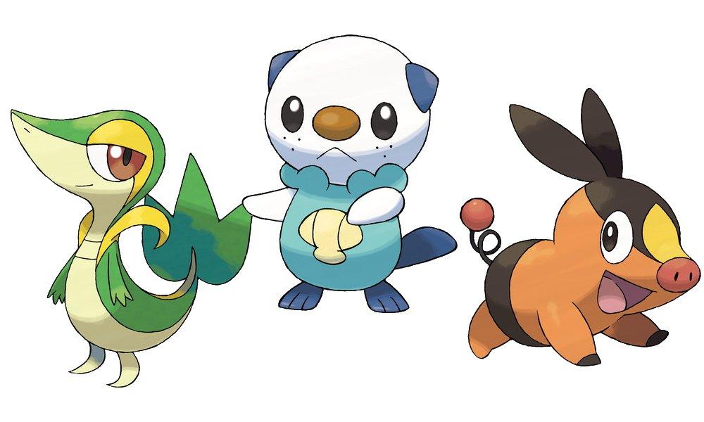 The best starter pokemon generations