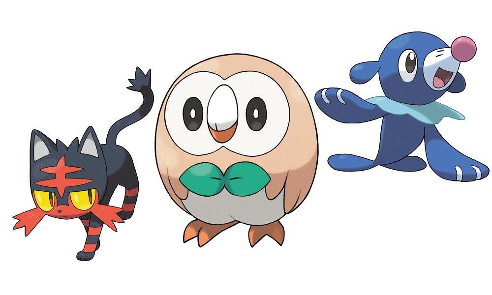 All starter pokemon ranked gen 7