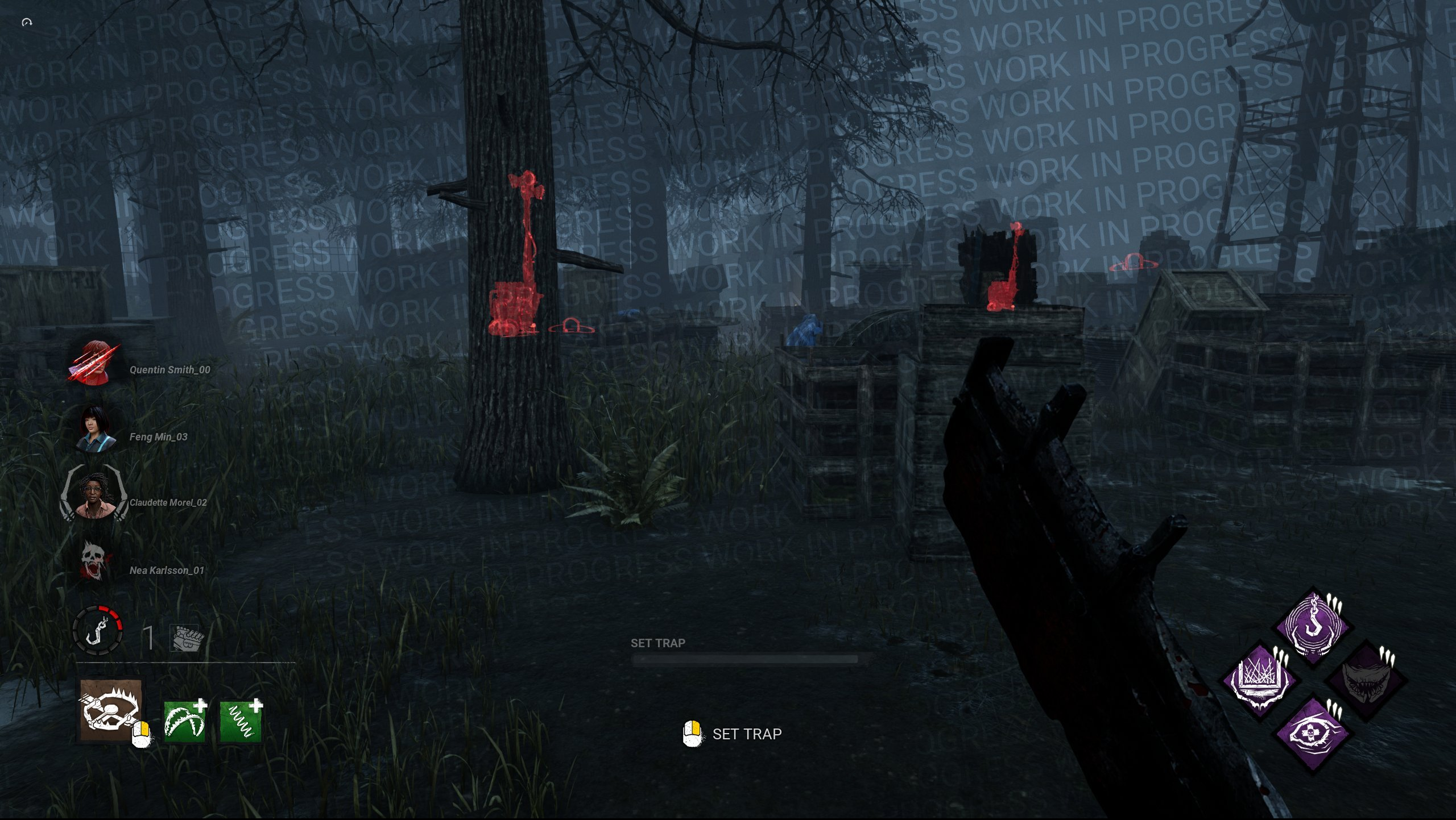 Dead By Daylight new hud changes wip