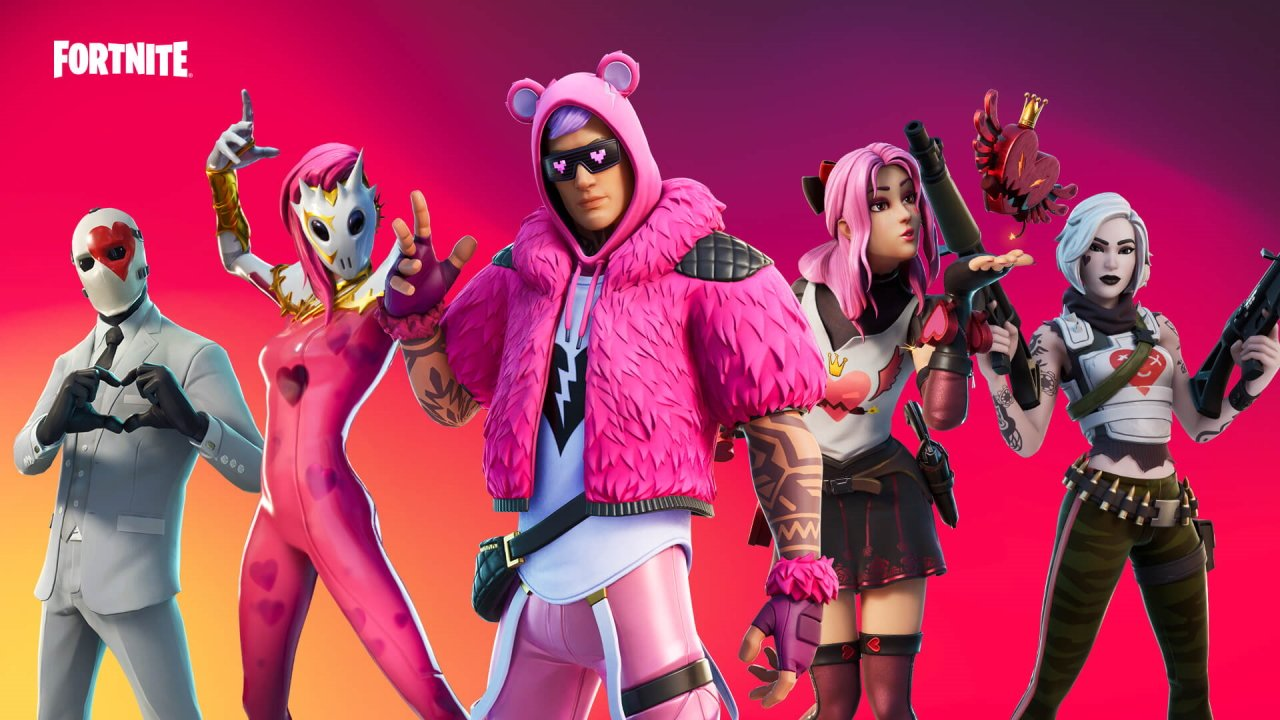 Fortnite valentines day event 2021