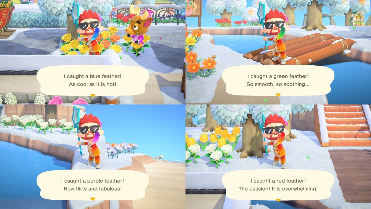 How to get feathers animal crossing new horizons