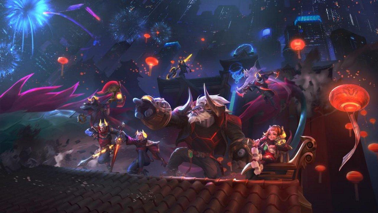 League of Legends Lunar beast event 2021