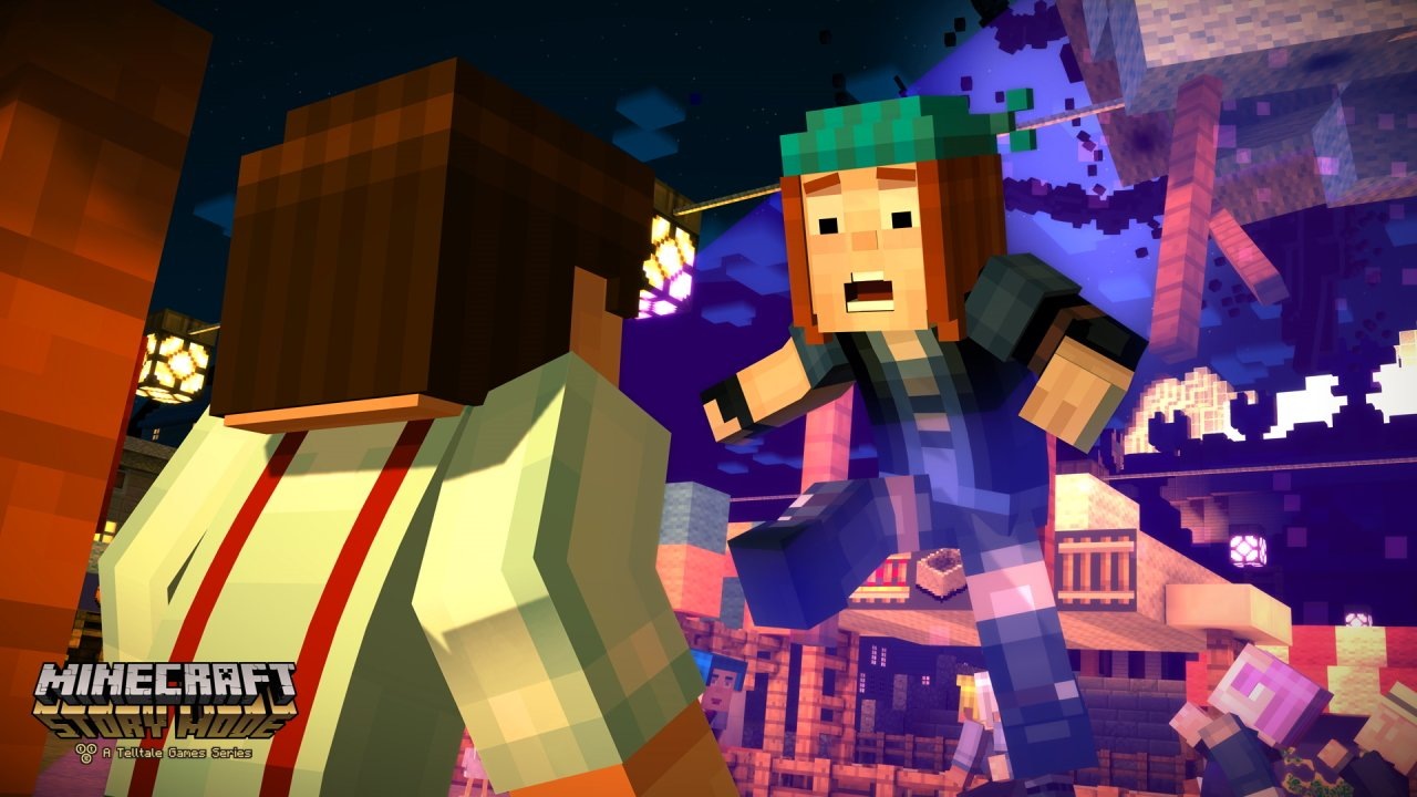 Netflix video game shows minecraft story mode