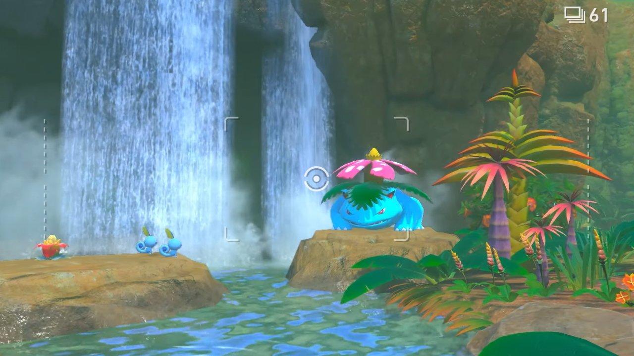 New Pokemon snap trailer lental region professor mirror rita