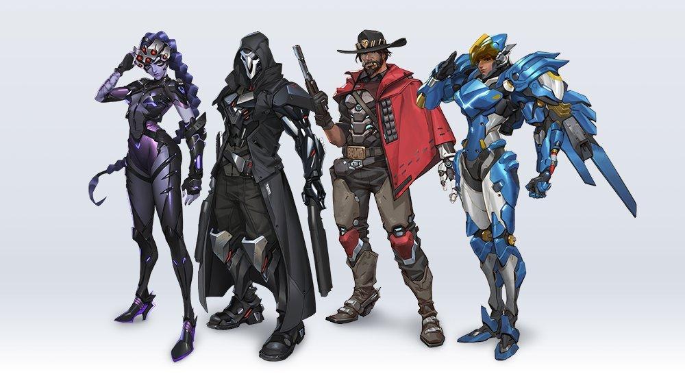 Overwatch 2 details redesigns
