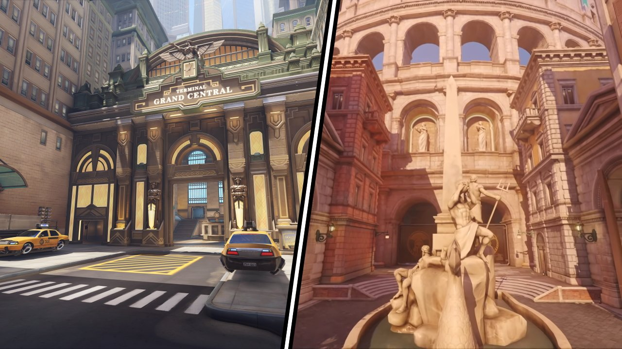 Overwatch 2 new maps rome new york manhattan
