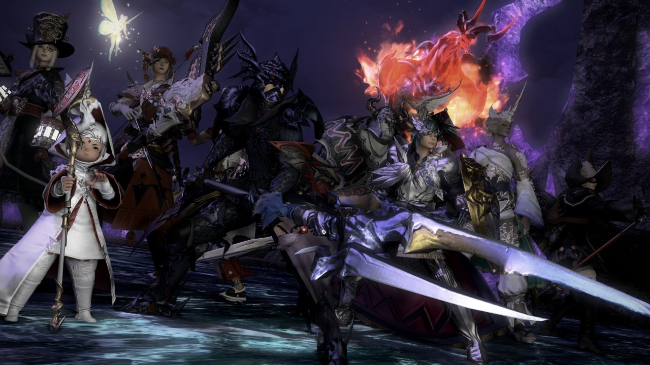 video game netflix final fantasy