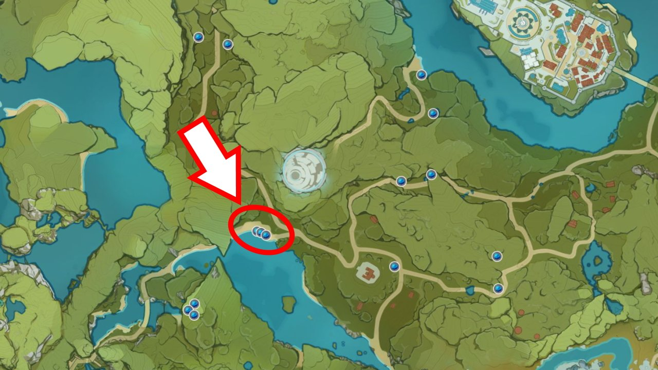 Where to find mist flower corolla locations genshin impact
