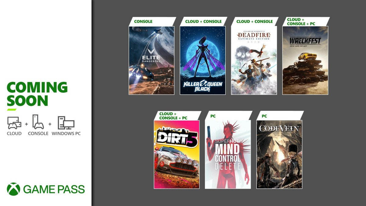 Xbox Game Pass February 2021 games