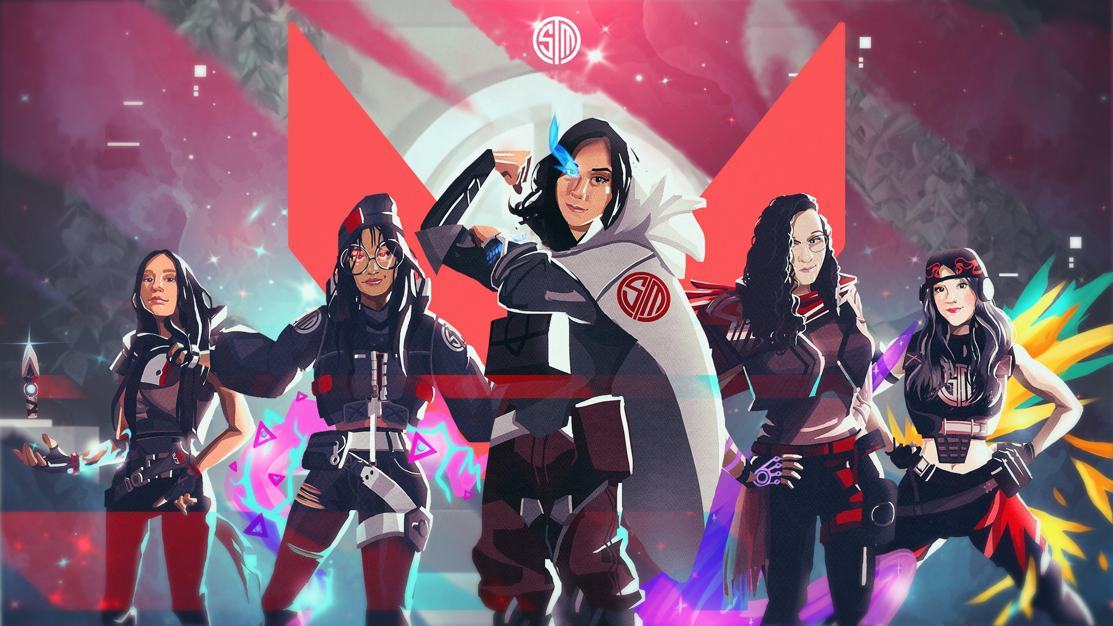 Female TSM Valorant roster new team