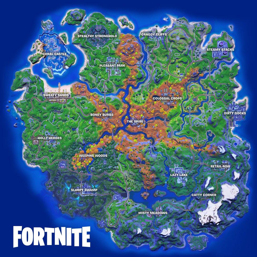 Fortnite Season 6 new map