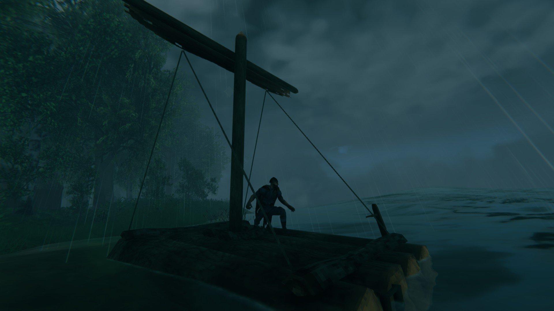 How to craft a raft valheim