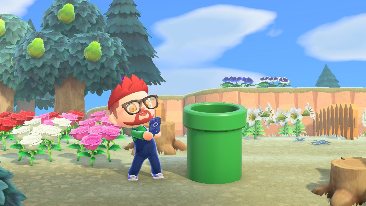 How to get mario items animal crossing new horizons