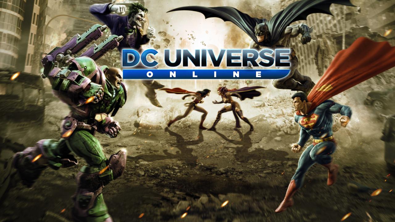 Justice league games dc universe online