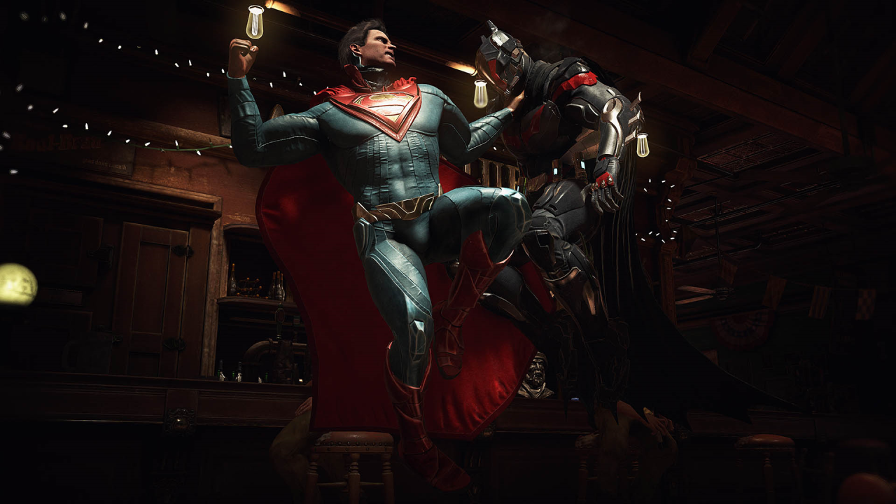 Justive league video games injustice 2