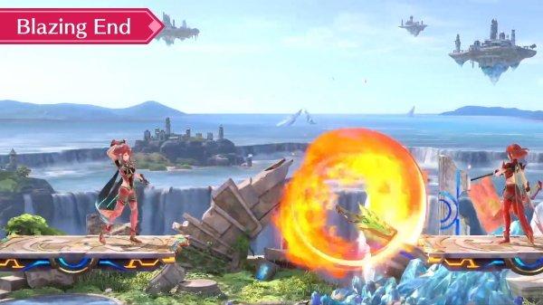 Pyra mythra moveset smash ultimate special attacks forward