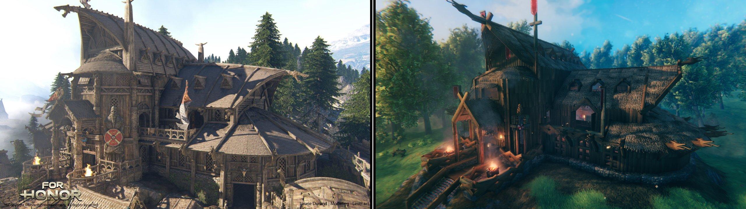 Valheim best creations impressive for honor loghouse