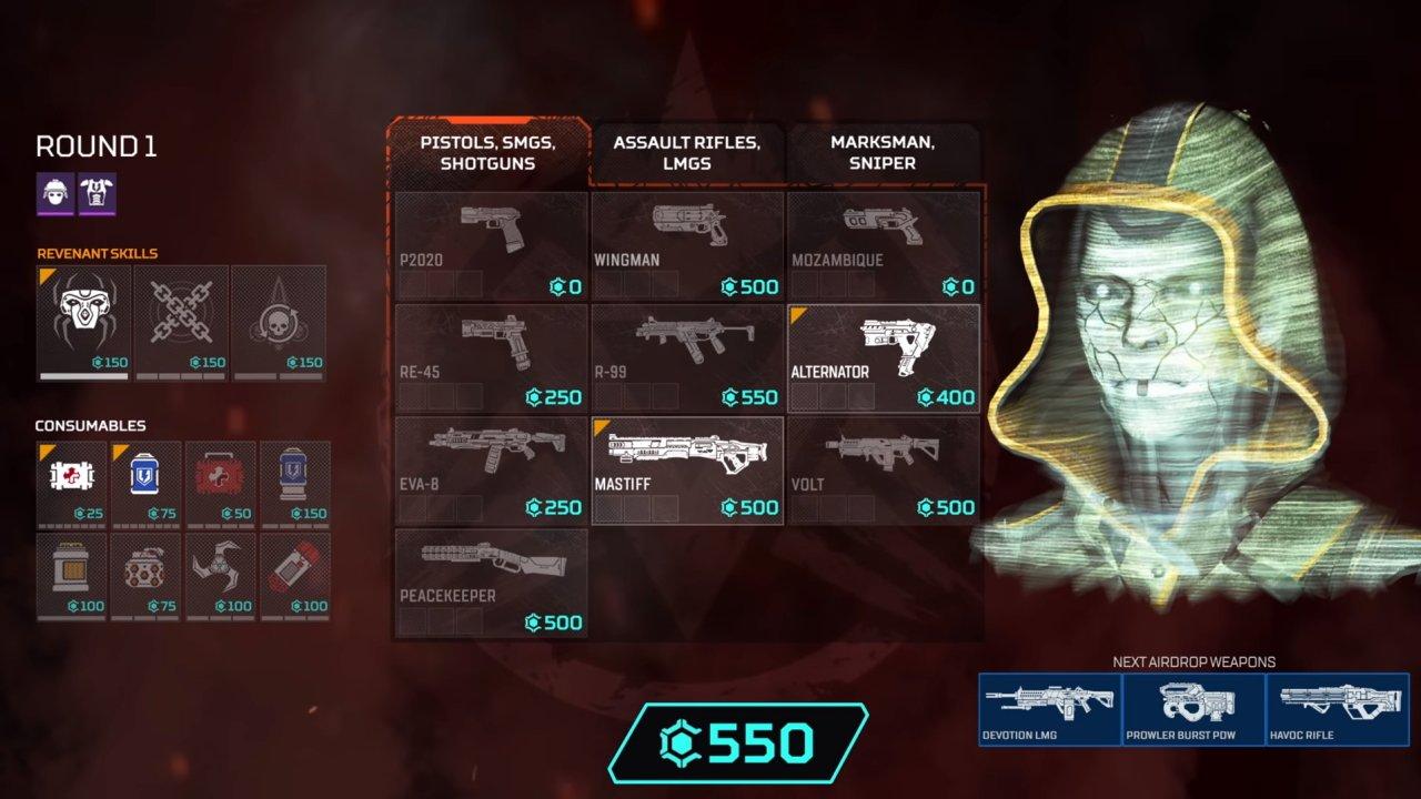 Apex legends legacy arenas mode