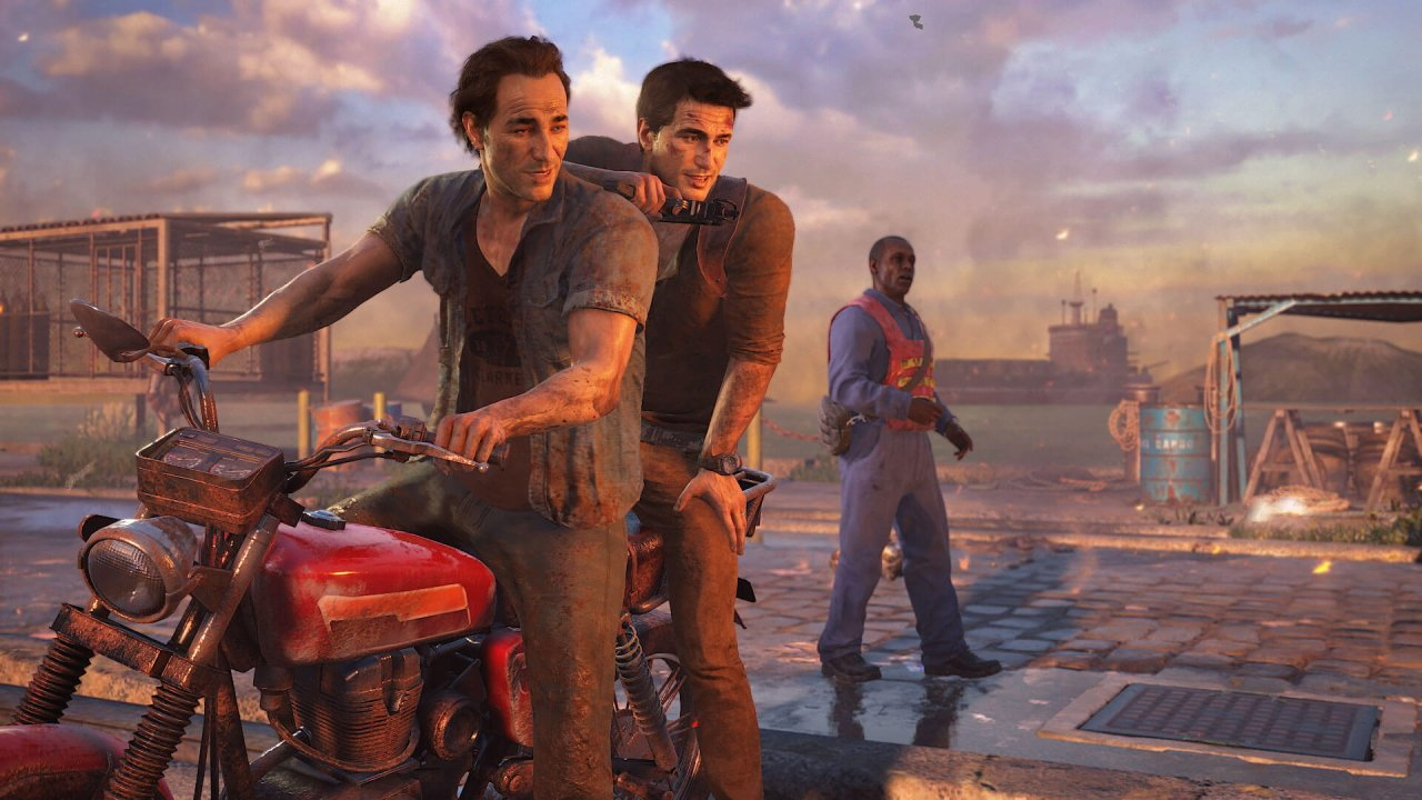 The best video game siblings uncharted 4 nathan sam drake