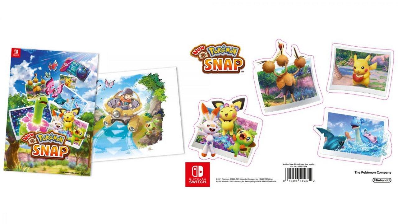 New Pokemon Snap pre-order bonus