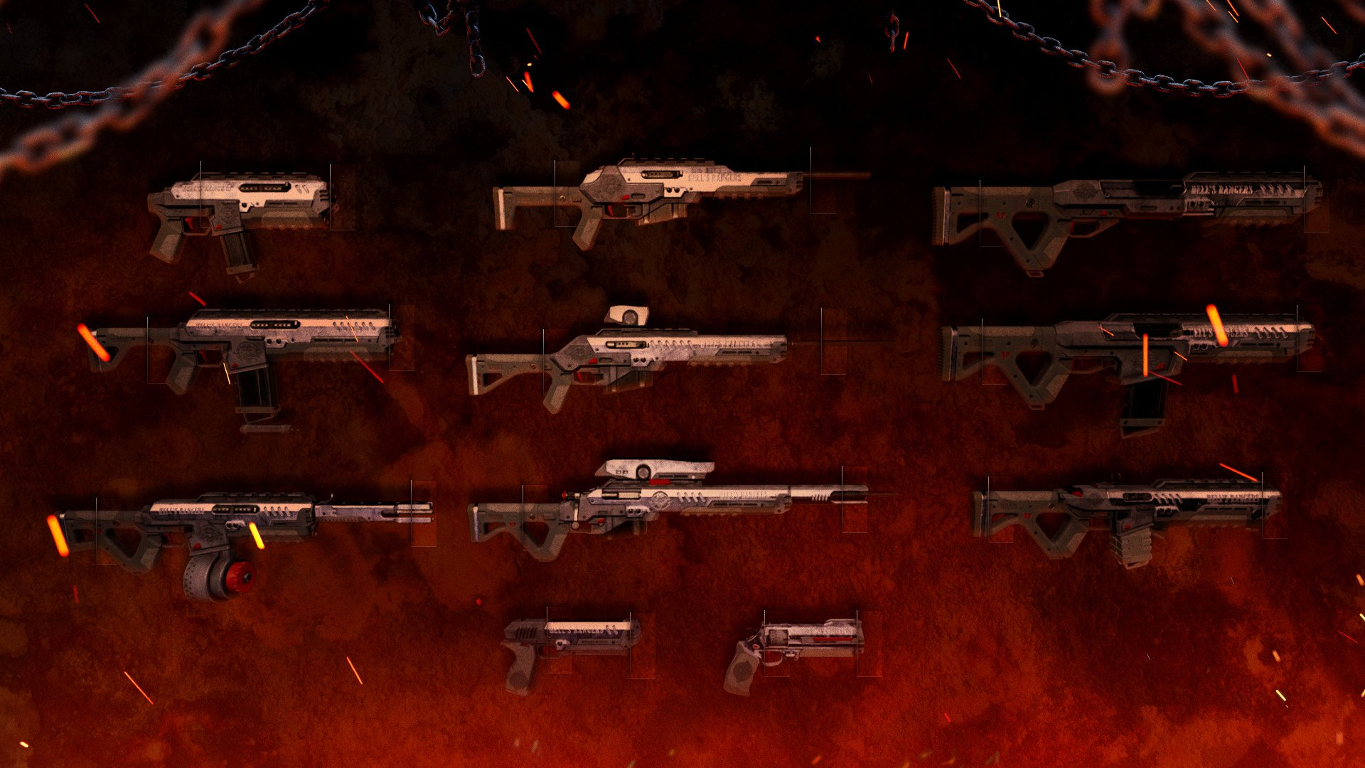 Outriders hell's rangers content pack details weapons