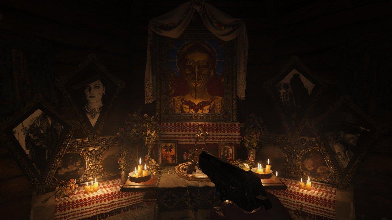 Resident Evil Village demo house leaders secret
