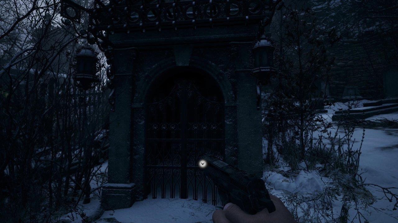 Resident Evil Village Demo locked gate