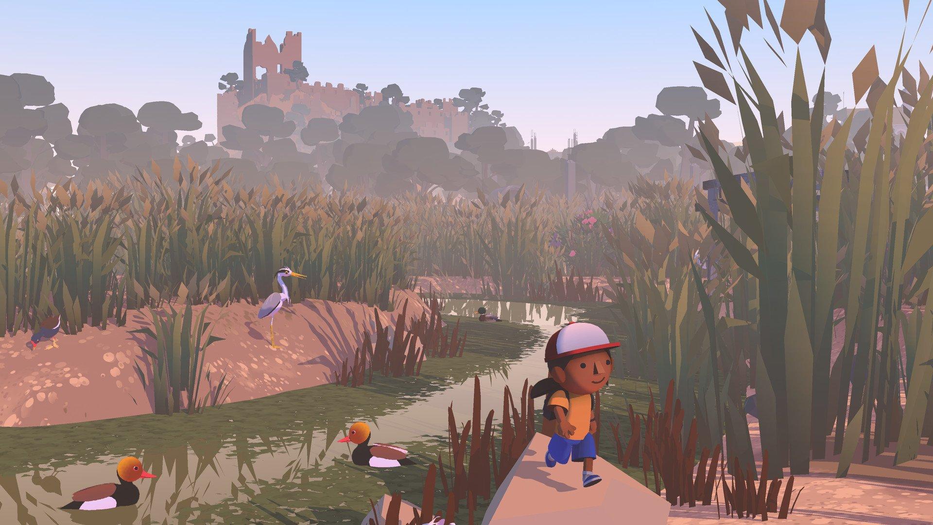 video game spring vibes alba a wildlife adventure