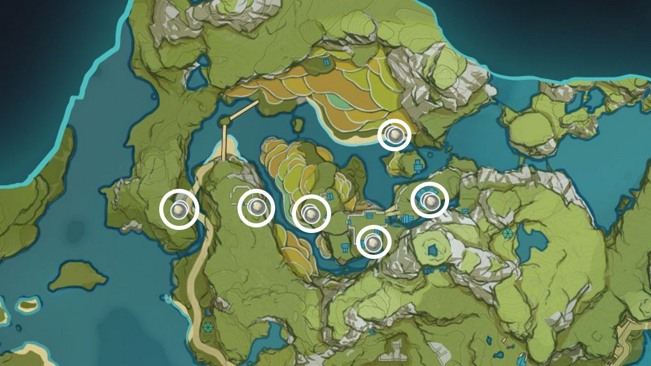 Where to find bird eggs in Genshin Impact