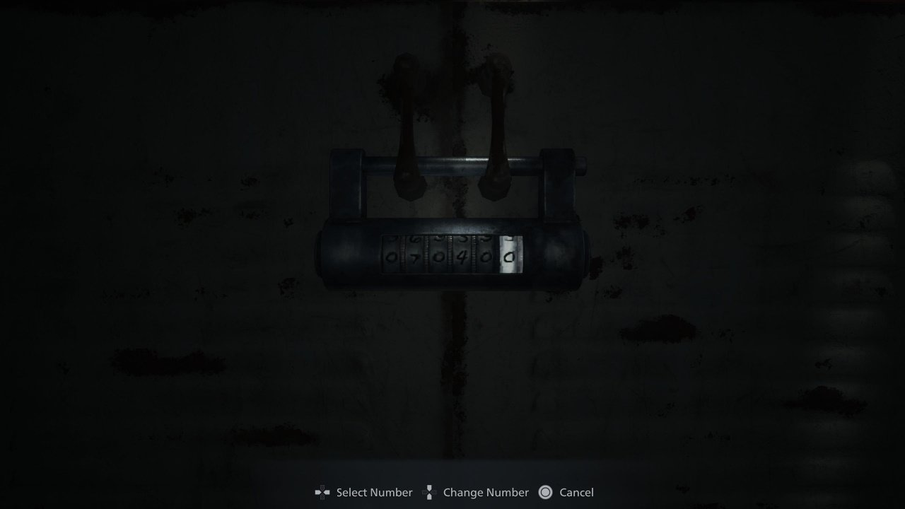 All combination codes in resident evil village