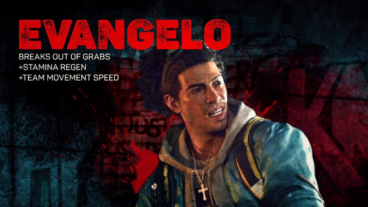 Back 4 blood characters evangelo abilities