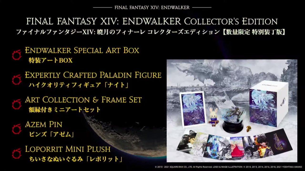 Final fantasy 14 endwalker collectors edition