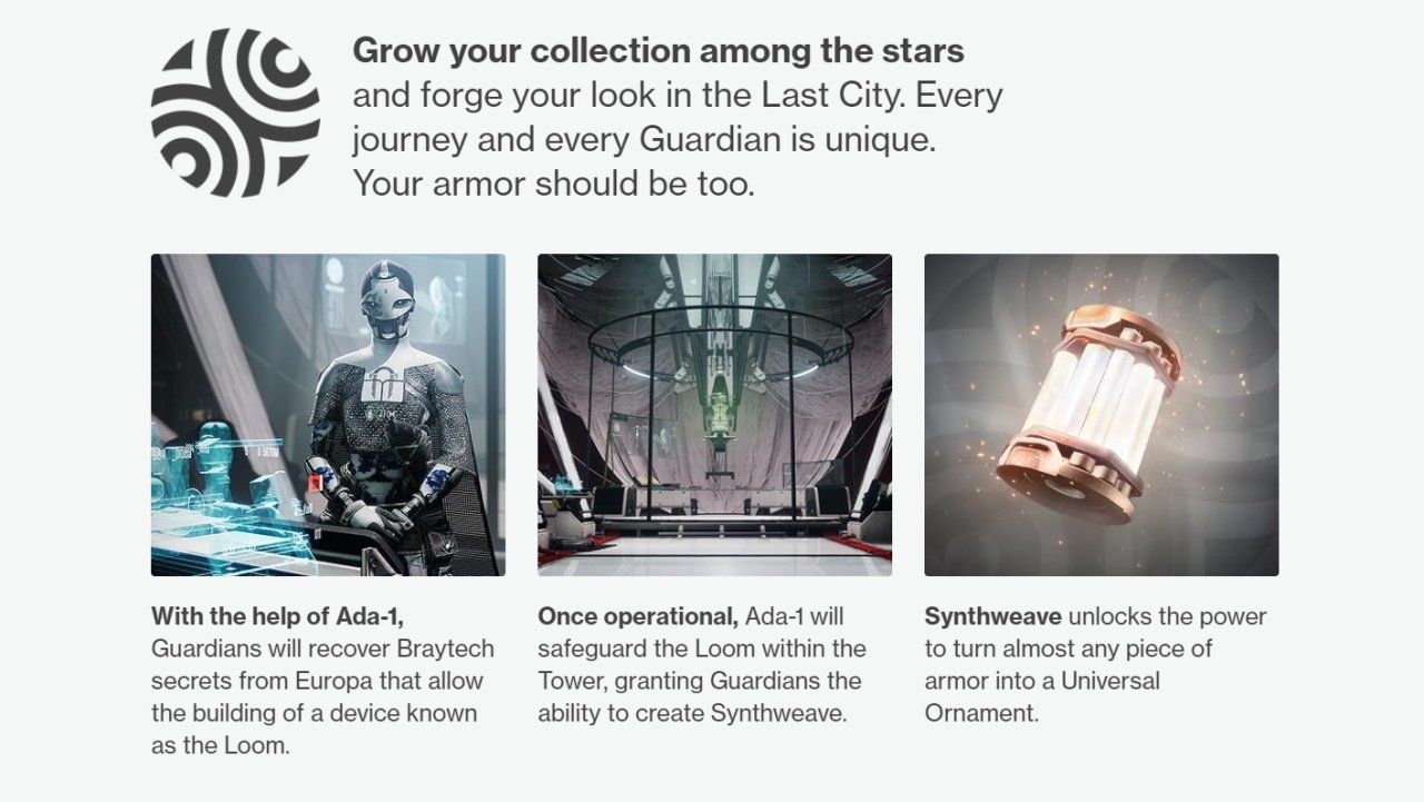 How to get Synthweave in Destiny 2 guide