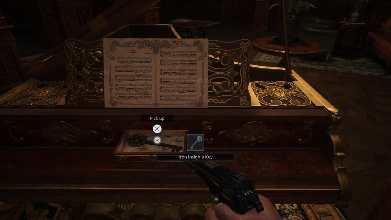 How to get the iron key resident evil village castle dimitrescu