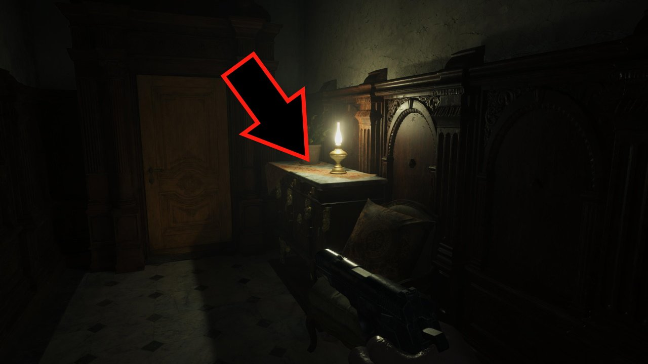 How to get the lockpick Resident Evil Village