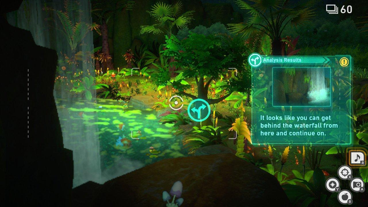 How to move liepard new pokemon snap founja jungle waterfall