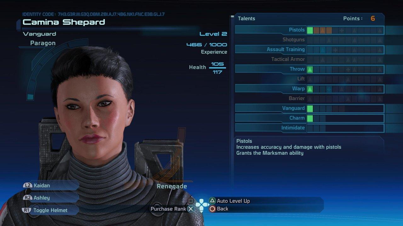 Mass Effect Legendary Edition level cap
