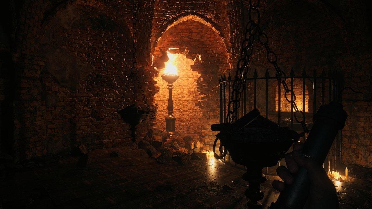 Resident Evil castle dimitrescu treasure map guide - broken wall