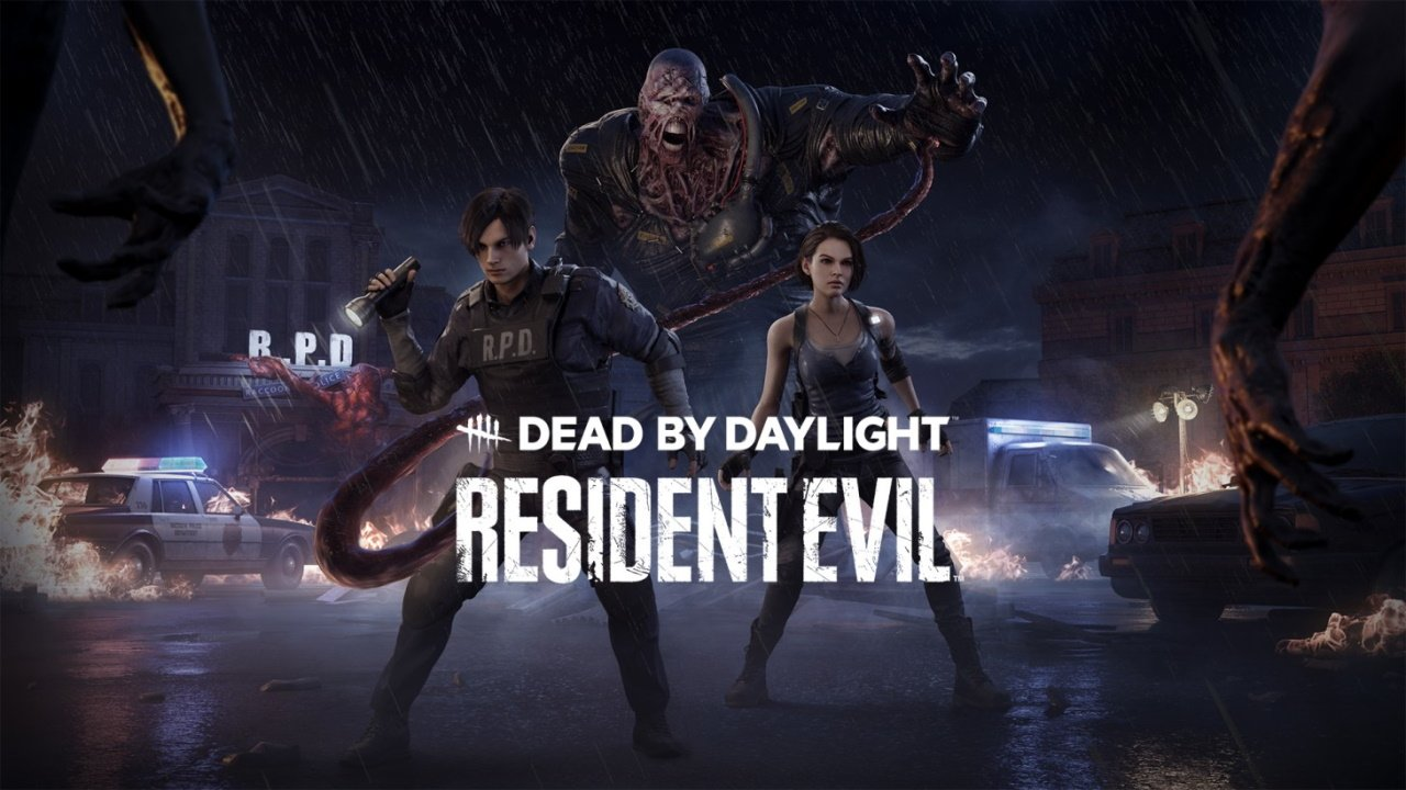 Resident Evil Dead by daylight nemesis leon jill