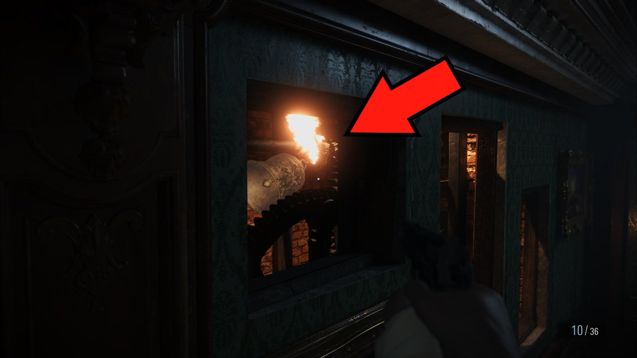 Resident Evil village five bell locations puzzle bell 3