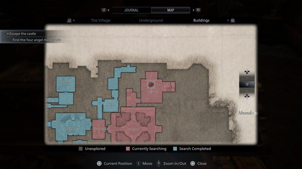 Resident Evil Village iron insignia key location
