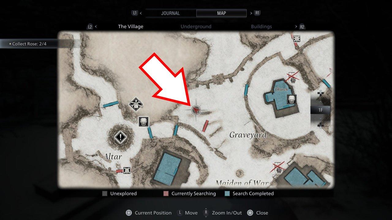 Resident Evil Village juicy game location